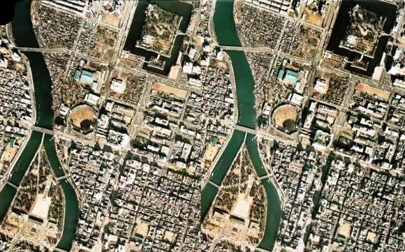 広島市中区70年代(交差法)