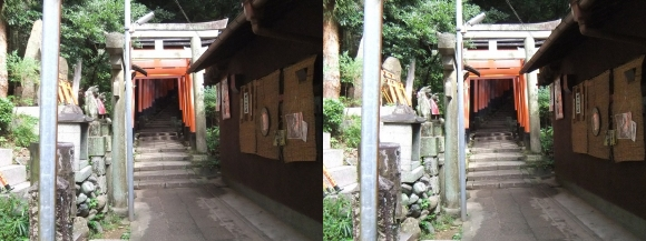 伏見稲荷大社 三徳社(平行法)