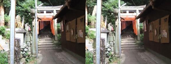 伏見稲荷大社 三徳社(交差法)