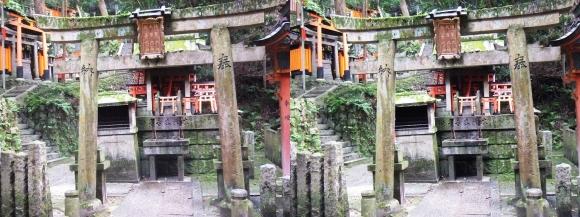 伏見稲荷大社 熊鷹社(平行法)