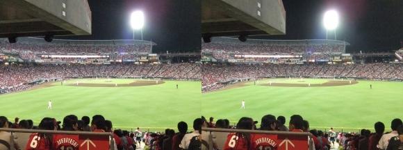 MAZDA ZOOM-ZOOM スタジアム 広島 観戦 2014.9.15⑪(交差法)