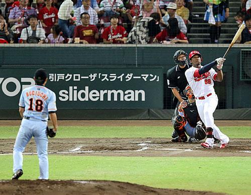 広島-巨人 ロサリオ 2014.9.15