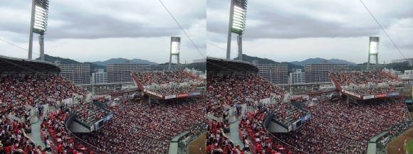 MAZDA ZOOM-ZOOM スタジアム 広島 観戦 2014.9.15③(交差法)
