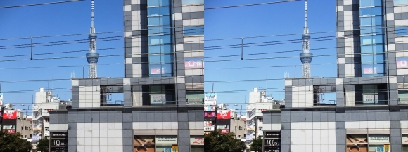 東京スカイツリー外観④(平行法)