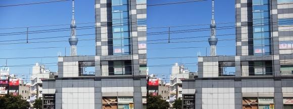 東京スカイツリー外観④(交差法)