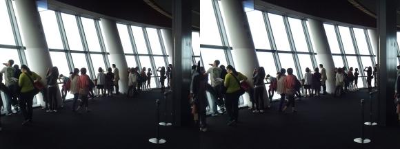 東京スカイツリー展望台⑧(平行法)