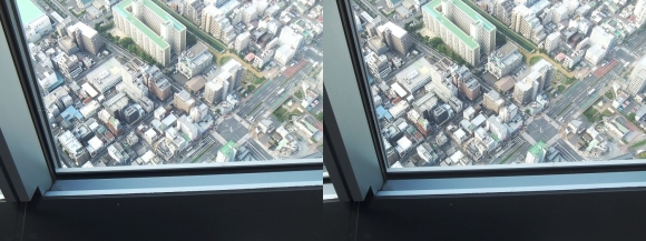 東京スカイツリー展望台⑦(交差法)