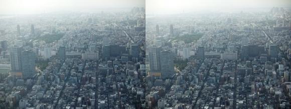 東京眺望⑨(平行法)