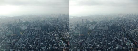 東京眺望⑧(平行法)