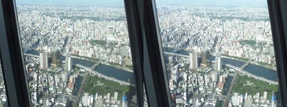 東京スカイツリー展望台④(平行法)