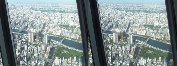 東京スカイツリー展望台④(交差法)