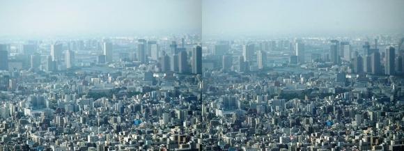 東京眺望⑤(交差法)