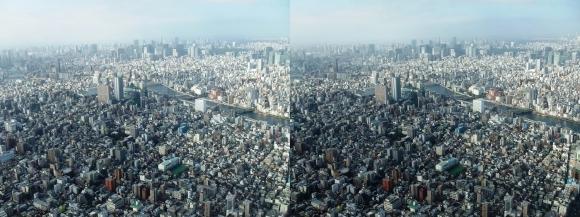 東京眺望④(交差法)