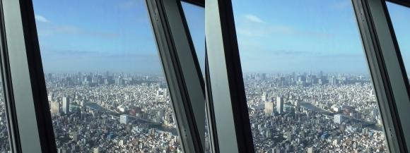 東京スカイツリー展望台②(平行法)
