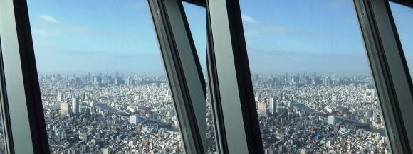 東京スカイツリー展望台②(交差法)
