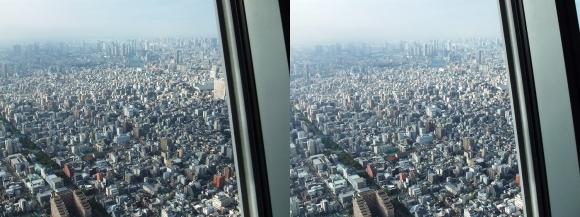 東京スカイツリー展望台①(平行法)