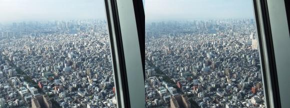 東京スカイツリー展望台①(交差法)