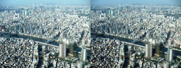東京眺望②(交差法)