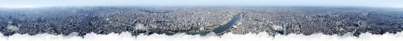 tokyo-skytree panorama①