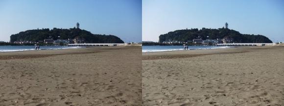 腰越海岸①(平行法)