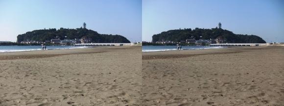 腰越海岸①(交差法)