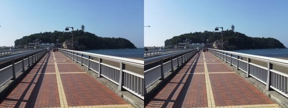 江の島弁天橋②(平行法)