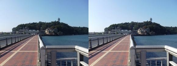 江の島弁天橋①(平行法)