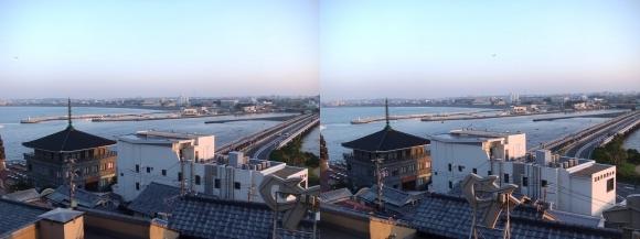 江島神社 片瀬漁港②(平行法)