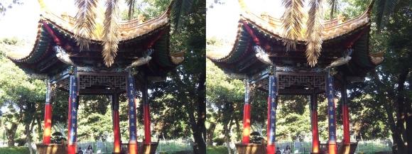 江の島 サムエル・コッキング苑 昆明広場(交差法)