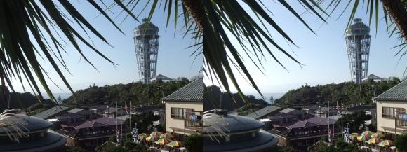 江の島 サムエル・コッキング苑 シーキャンドル③(平行法)