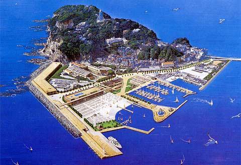 江の島 湘南港事業計画