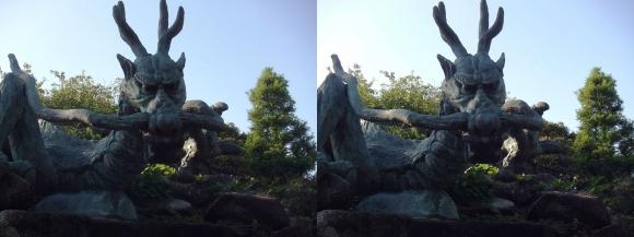 江島神社 奥津宮 龍宮大神②(平行法)