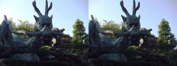 江島神社 奥津宮 龍宮大神②(交差法)