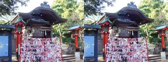 江島神社 奥津宮(平行法)
