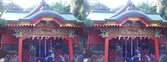 江島神社 中津宮(平行法)