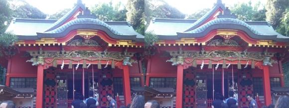 江島神社 中津宮(交差法)