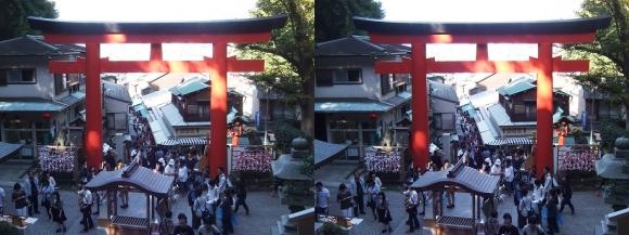 江島神社 表参道(平行法)