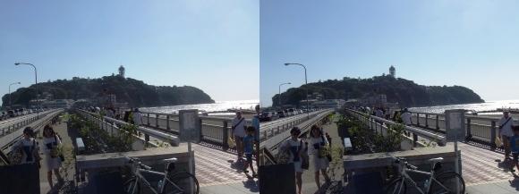 江の島弁天橋・江の島大橋(平行法)