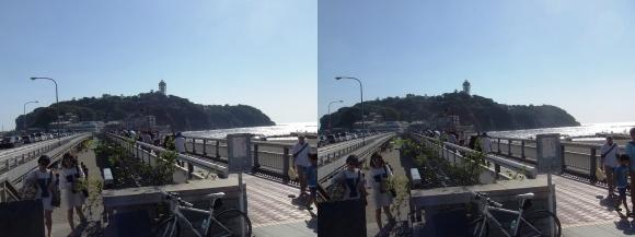 江の島弁天橋・江の島大橋(交差法)