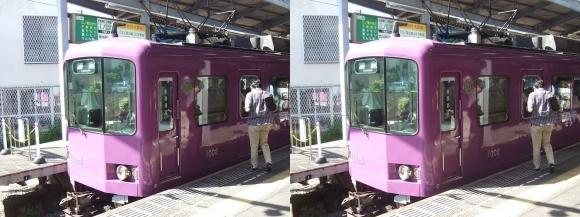 江ノ島電鉄 鎌倉駅②(交差法)