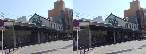 江ノ島電鉄 鎌倉駅①(平行法)