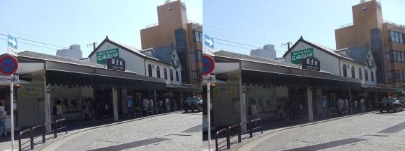江ノ島電鉄 鎌倉駅①(交差法)