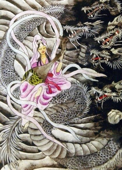 天女と五頭竜伝説