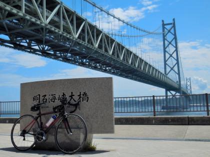 明石海峡大橋石碑