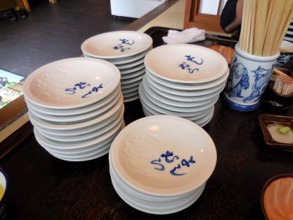 皿そば35枚