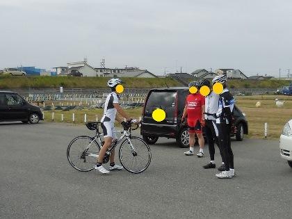 YMさん自転車