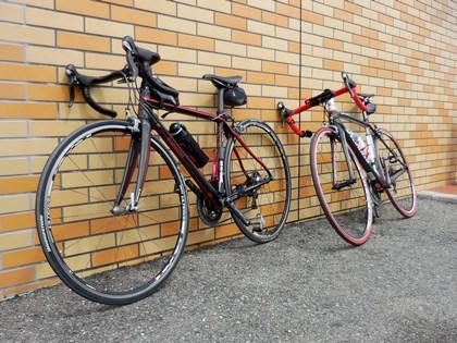 自転車休憩