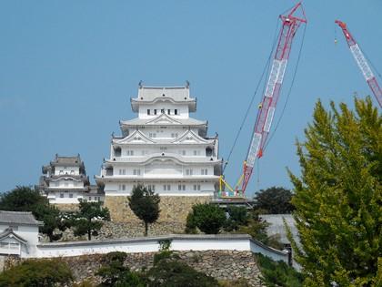 国宝姫路城修復工事