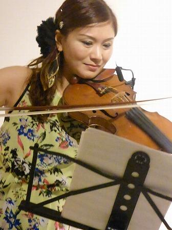 バイオリンReikoさん