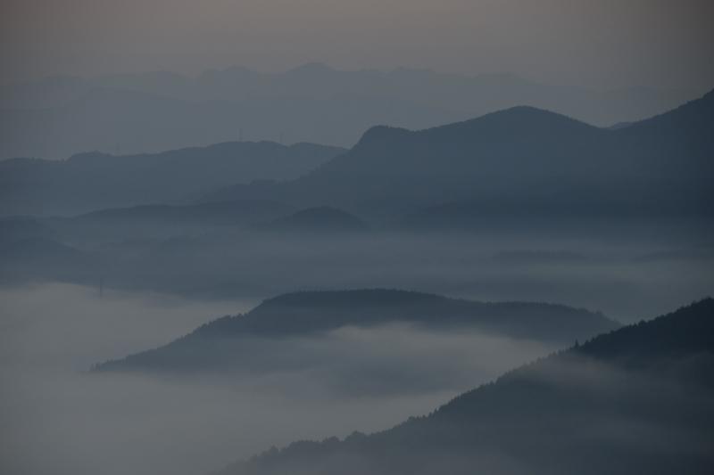 日田の底霧 (2)